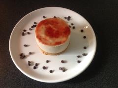 Cheesecake poire et fraise - C'Végétal
