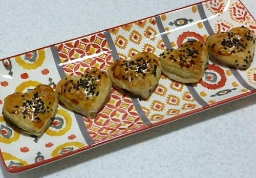 Coeurs feuilletés aux champignons - C'Végétal