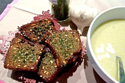 Garlic bread - C'Végétal