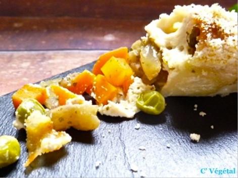 Cannelloni aux petits légumes - C'Végétal