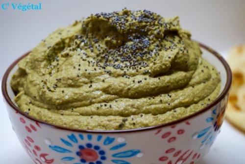 Houmous De Kale // Kale Hummus - C'Végétal