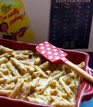 J''ai testé : le Mac & Cheese Vegan - C'Végétal