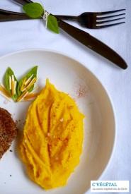 Purée de panais et courge butternut au paprika // Mashed parsnip and butternut squash with paprika - C'Végétal http-:cvegetal.com