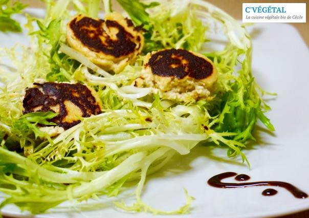 Salade végétalienne de