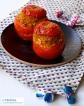 "Tomates farcies au haché végétal maison // Stuffed tomatoes with homemade vegan ground ""meat"""