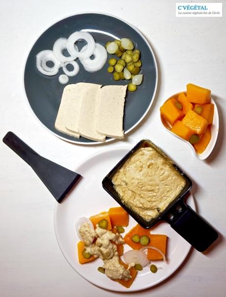 Raclette réinventée en mode végane et léger - C'Végétal