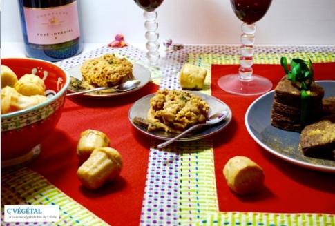 Champagne et petits desserts - C'Végétal