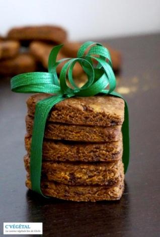 Cookies chocolat et cacahuètes - C'Végétal