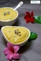 Crème de kakis stracciatella // Stracciatella persimmon cream - C'Végétal
