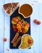 Couscous végane aux légumes et merguez // Vegan vegetable and merguez couscous - C'Végétal