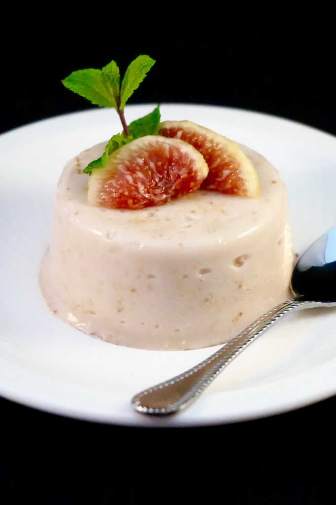 Panna cotta coco et figue